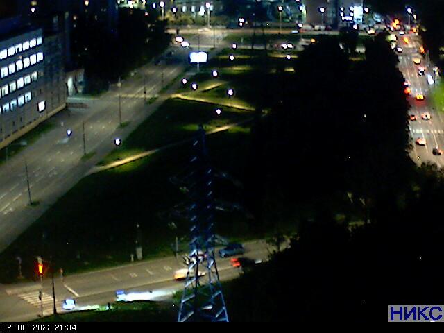 веб-камера на Звездном бульваре в Москве
